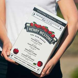 Henry Westons Bag-in-Box Ciders (10L boxes) £23 at Westons Cider