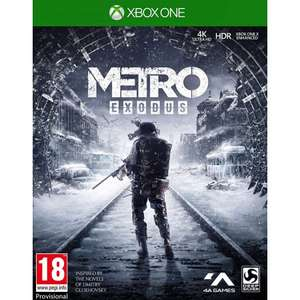 Metro exodus xbox one £7.95 delivered at The Game Collection