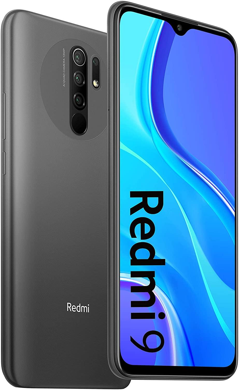 XIAOMI Redmi 9 4GB+64GB Carbon Grey / Ocean Green, Official UK Version + 2 Year Xiaomi Warranty - £109 @ Amazon