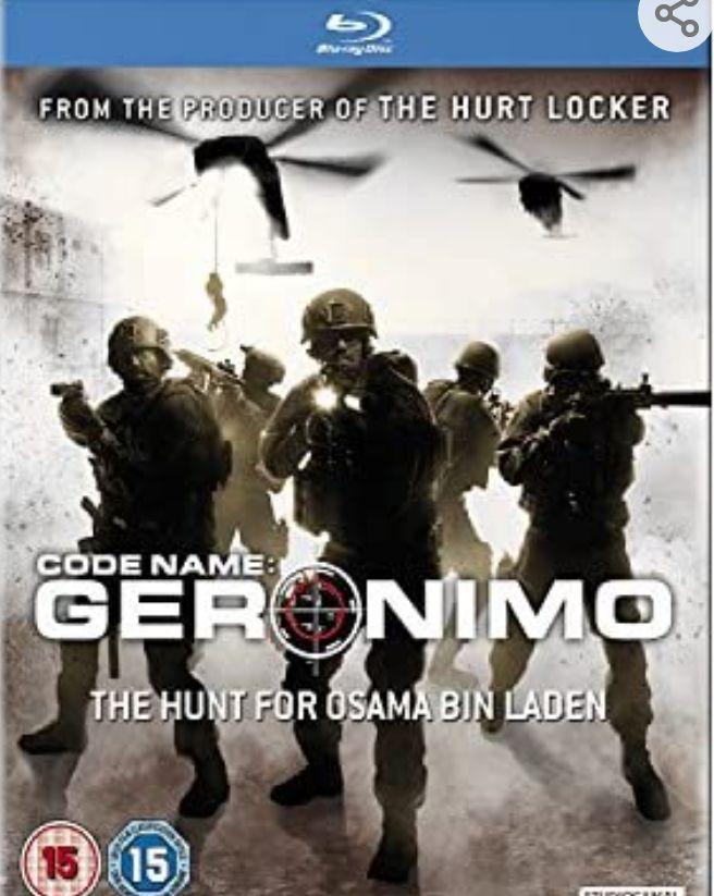 Code Name: Geronimo - The Hunt For Osama bin Laden [Blu-ray] - £1.90 (+£2.99 Non Prime) @ Amazon
