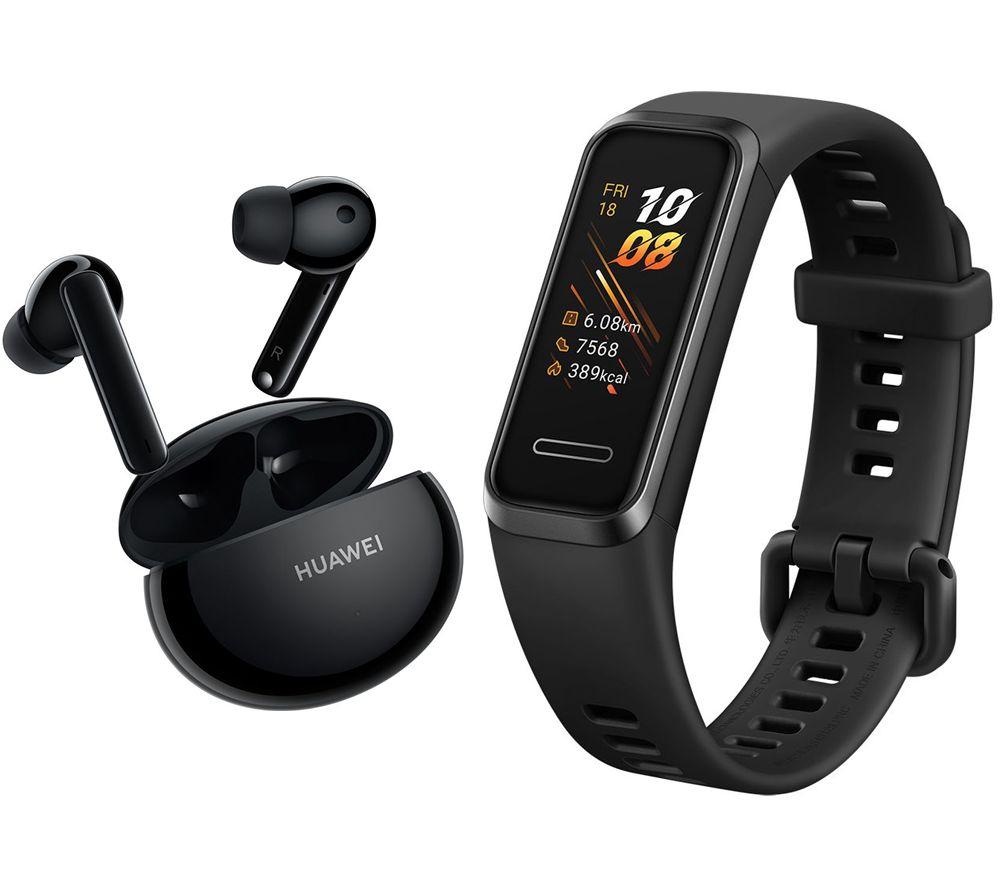 Huawei Freebuds 4i Headphones (Black/White/Red) + Free Huawei Band 4 - £79.99 @ Huawei Store UK