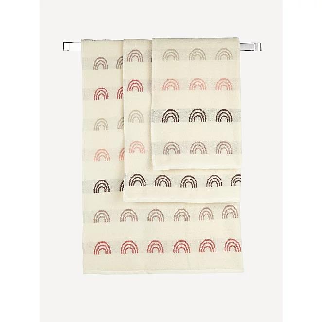 Rainbow Print Towel : Hand £2.50 \ Bath Sheet £8 (+ Free click & collect ) @ Asda