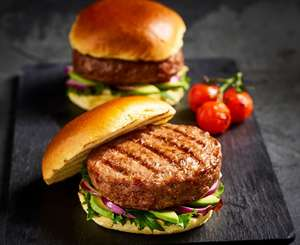 British BBQ Meat Pack (8 x 1/4 Pound Beef Burgers & 12 The Best Sausages) £8 + get free 24 Bread Roll Pack Instore @ Morrisons Tamworth