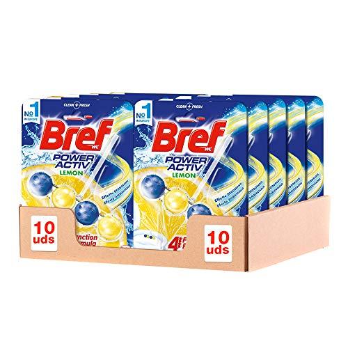 Bref Power Active Lemon Toilet Hanger Pack of 10 - £4.53 prime / £9.02 nonPrime at Amazon