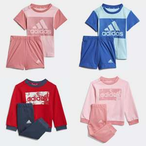 adidas Kids Essentials Tee and Shorts Set for £13.50 or Sweatshirt And Pants for £16.50 delivered (using code) @ adidas