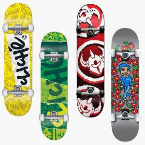 """Skateboard Completes From £48.94 - EG: Cliché Paper Complete 7.75"""" £48.94 / Darkstar Dissent Complete 7.5"""" £63.94 (UK Mainland) @ Route One"""