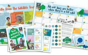 Free 30 Days Wild Pack With Sign-up at The Wildlife Trust