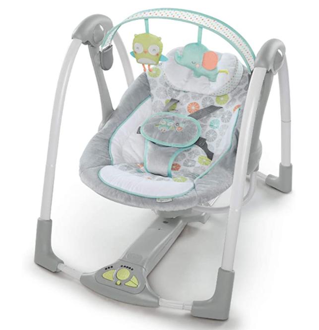 Ingenuity, Swing 'n Go Portable Baby Swing - Hugs & Hoots £47.01 (UK Mainland) Sold by Amazon EU @ Amazon