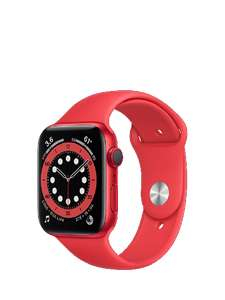 Refurbished Apple Watch Series 6 GPS + Cellular 44mm Red (grade B) £333 @ SMG