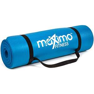 Maximo Exercise Mat 183cm x 60cm Extra Thick Yoga Mat £18.67 prime / £23.16 nonPrime Sold by MaximoFitness & Fulfilled by Amazon