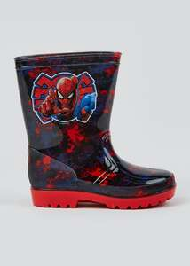 Marvel Spider-Man Kids Wellies - £5 + free Click and Collect @ Matalan