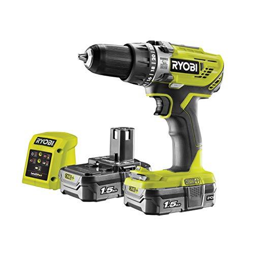 Ryobi R18PD3-215GZ 18 V ONE+ Cordless Combi Drill Starter Kit (2 x 1.5 Ah) - £74.99 Delivered @ Amazon