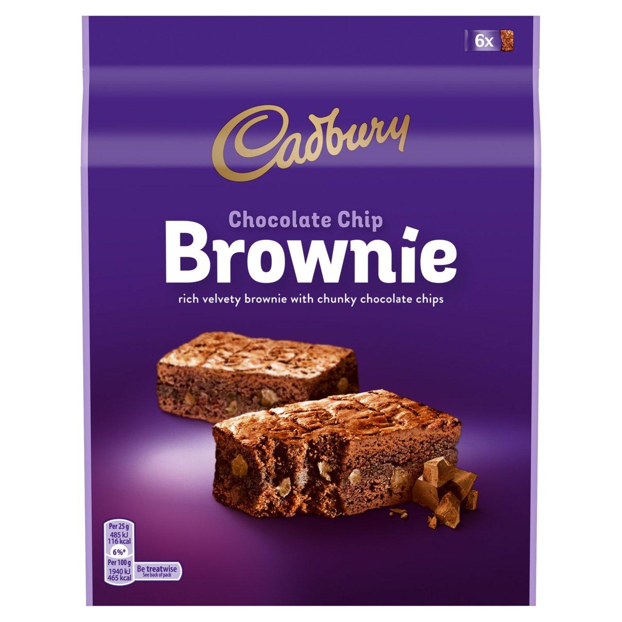 Cadbury Chocolate Chip Brownie 6 pack 150g - £1.50 @ Morrisons