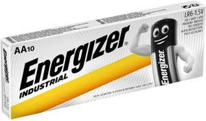 20x Energizer Industrial AA Alkaline Batteries Exp.2029 £5.95 at carexpert20/eBay