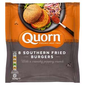 Quorn 8 frozen Southern Fried Burgers 504g - £1.00 instore @ Farmfoods, Middlesbrough