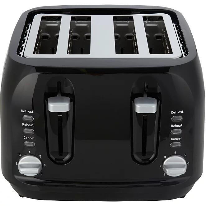 4 Slice Toaster 2000W (Black) - £16 (free click + collect) @ George/Asda