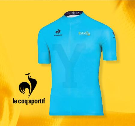 Le Coq Sportif Tour De France Grand Depart Cycle Jersey £15 (£4.25 delivery) @ Shop Yorkshire