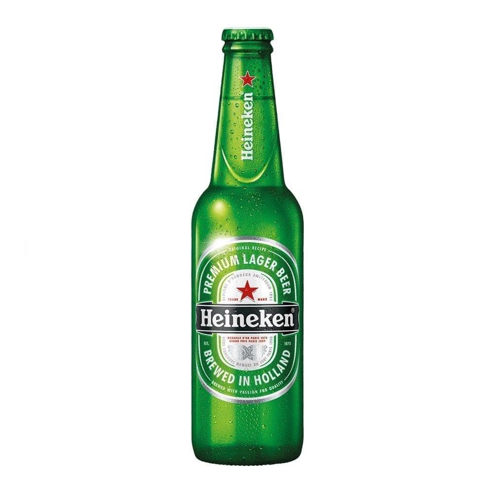 Heineken export 330ml 5% volume lager beer 69p in Home Bargains Ashton ~ brewed in holland
