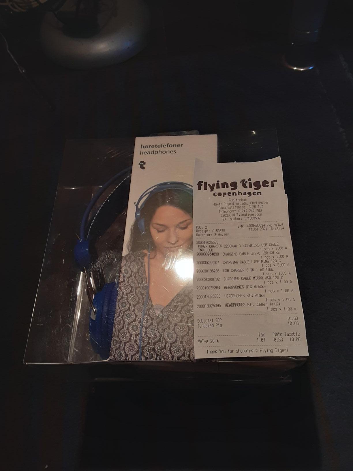 Wired Headphones - £1 Instore @ Flying Tiger (Cheltenham)