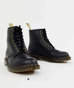 Dr Martens faux leather 1460 8-eye boots in black £35.70 with code @ Asos