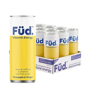 Brain Füd Vitamin Energy Fruity Sparkling Water £12.09 / Possible £5.28 with S&S 15% with £5 voucher - first S&S (+£4.49 Non Prime) @ Amazon