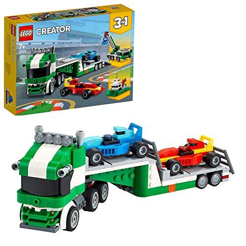 LEGO Creator 31113 3 in 1 Race Car Transporter £10 (Prime) + £4.49 (non Prime) at Amazon
