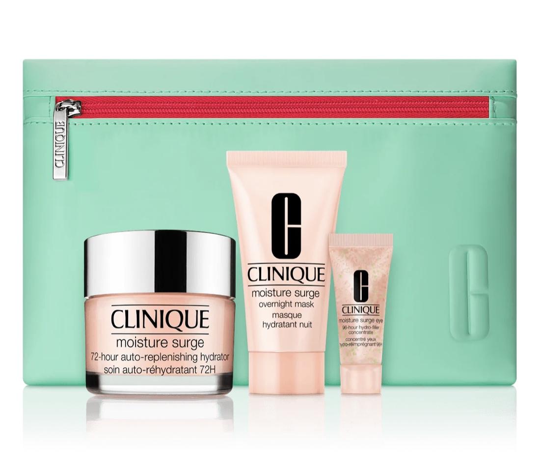 Clinique Moisture Surge Gift Set £24.68 & Free Delivery @ Clinique