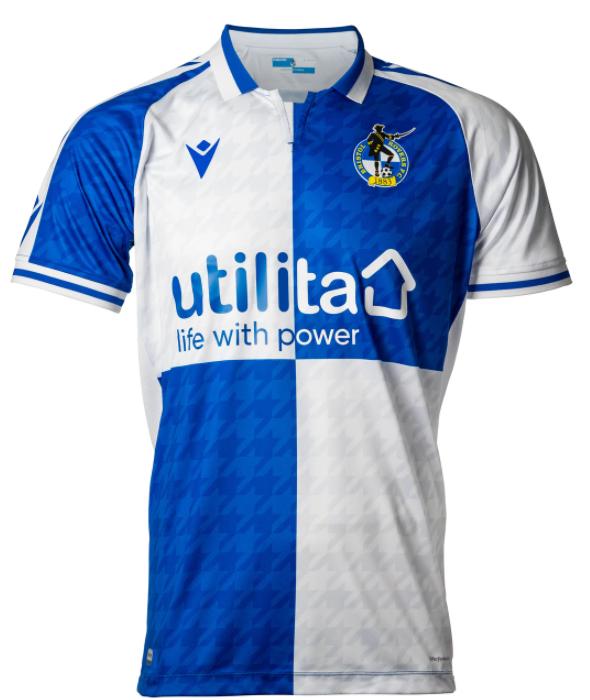 Bristol Rovers home Football shirt £26 including delivery @ Bristol Rovers Football Club