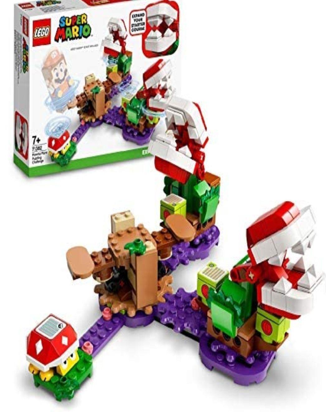 LEGOSuperMario71382 PiranhaPlantPuzzlingChallenge £15 from Amazon UK (free delivery with Prime or £4.49)