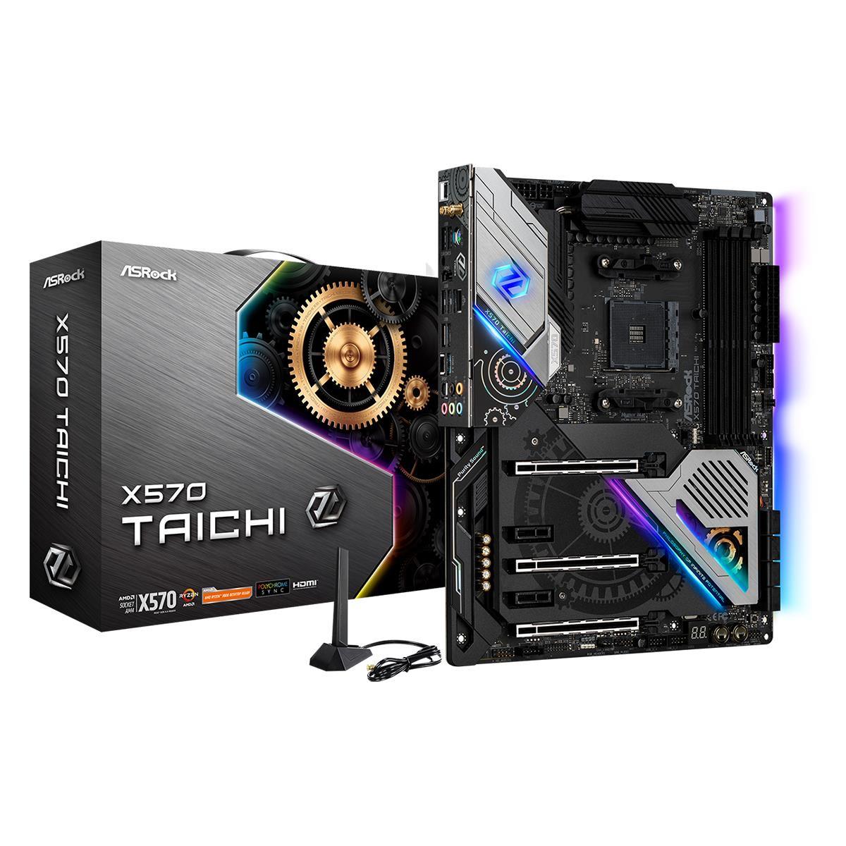ASRock X570 Taichi AM4 ATX Motherboard £267.02 at Quzo