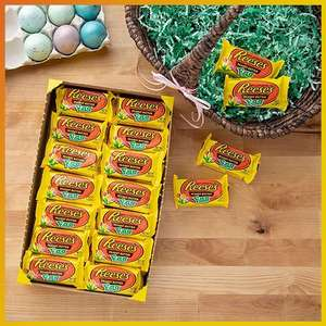 36x 34g Reese's Milk Chocolate Peanut Butter Eggs - Best Before: October 2021 - £10 Delivered @ Yankee Bundles