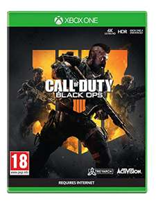 Call of Duty: Black Ops 4 (Xbox One) - £9.87 prime / £12.86 nonPrime at Amazon