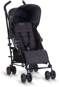 Silver Cross Zest Pushchair (Black & Silver) - £105 delivered @ Boots
