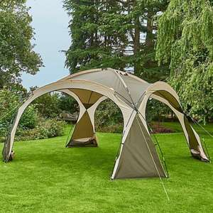 George Home Water-resistant Cream Ozark Camping Sun Shelter (includes sides) £89 at Asda George