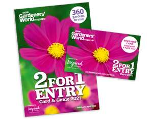 Gardeners World Magazine May 2021 Issue £6.99 instore + 2 for 1 entry for a year card - 360 gardens to visit and 6 packs of seeds