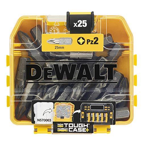 Dewalt DT71521-QZ DT71521-QZ-Juego 25 puntas Pz2 de, Yellow/Black, 25 mm, Set of 25 Pieces - £4.95 (+£4.49 Non-Prime) @ Amazon