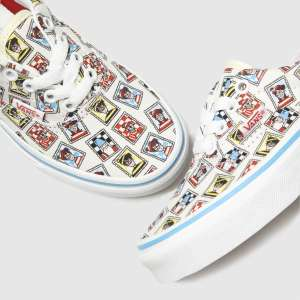 Vans white & blue era wheres waldo trainers junior £24.99 at Schuh - free Click & Collect / £3 delivery