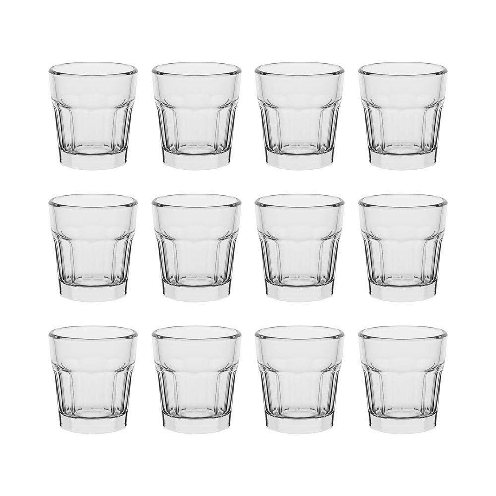 AmazonCommercial All-Purpose Shot Glass, 53 ml, Set of 12 £6.27 (Prime) + £4.49 (non Prime) at Amazon
