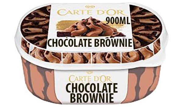 900ml Carte D'Or Chocolate Brownie Ice Cream 99p | 24x500ml Pepsi Max 2 for £25 | 8pk Tortilla Wraps 69p @ Farmfoods