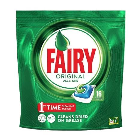 Fairy original dishwasher pouches x 16 £1.50 @ Matalan Kingswood Hull