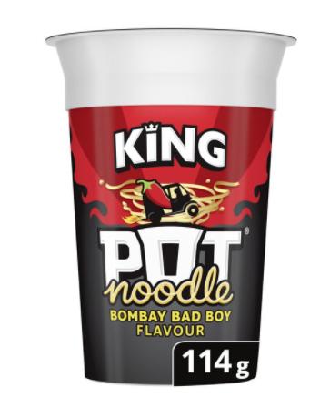 King pot noodle bombay badboy 50p at B&M Crawley