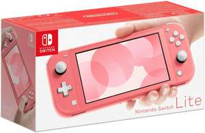 Nintendo Switch Lite 5.5 Inch Touchscreen Handheld Console (Coral) A-Grade Refurb - £147.24 delivered with code @ Argos eBay - UK Mainland