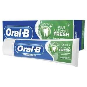 Oral-B Complete Ultimate Fresh Toothpaste 75ml £1.08 @ Superdrug