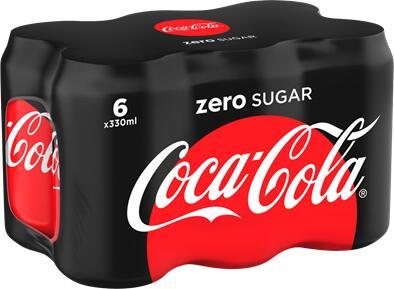 6 pack 330ml Coke zero / cherry Coke £1.99 at Aldi (Bingham)