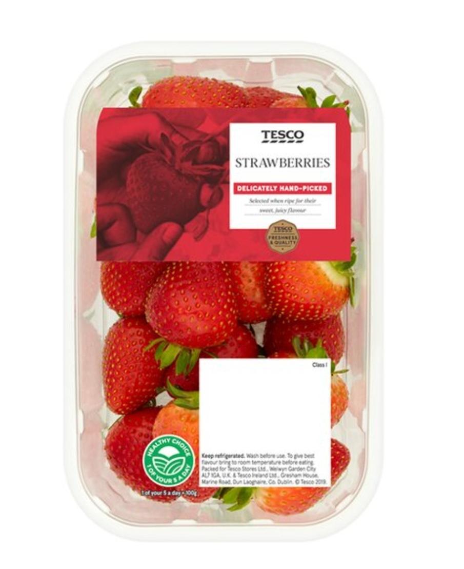 Strawberries 2 x 400g for £3 @ Tesco