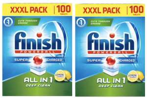 Finish Powerball All in One 2 x 100 XXXL Packs (200 Total Tablets) - £14.98 @ Costco