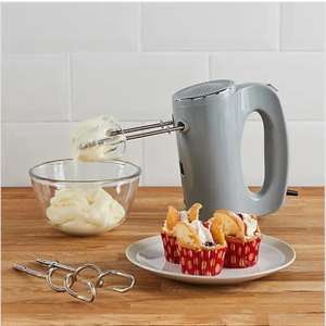 300W Grey Hand Mixer £9.80 (Free Click+Collect / £3.95 delivery) @ Dunelm