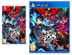 Persona 5 Strikers - Limited Edition (Nintendo Switch/PS4) - £29.34 (£20.39 with First App User Voucher / UK Mainland) @ Amazon Spain