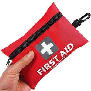 Mini First Aid Kit, 92 Pieces Small First Aid Kit - £5.93 Prime (+ £4.49 Non Prime) Sold by General Medika and Fulfilled by Amazon