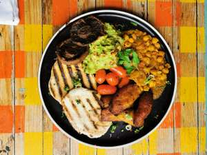 Turtle Bay - Breakfast meal and unlimited hot drinks, juice and soft drinks £8.50
